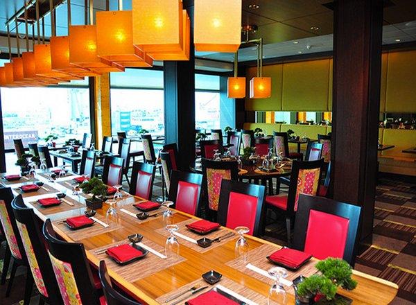 Silk Harvest Restaurant on Celebrity Solstice