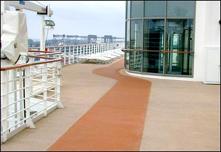 Jogging Track on Celebrity Solstice