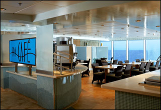 AquaSpa Cafe on Celebrity Summit