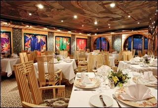 Samsara Restaurant on Costa Deliziosa