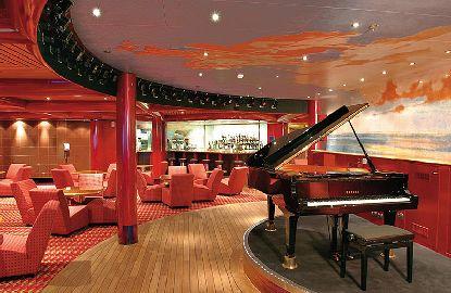 Piano Bar on Costa Favolosa
