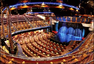 Rex Theater on Costa Fortuna