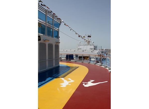 Jogging Track on Costa Fortuna