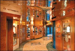 Via Condotti Shops on Costa Mediterranea