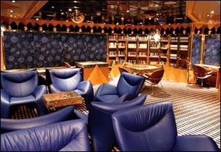 Library on Costa neoRomantica