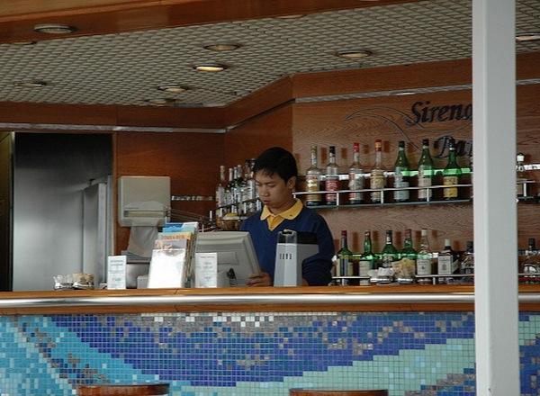 Pool Bar on Costa neoRomantica