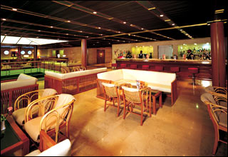 Bar on Costa Pacifica