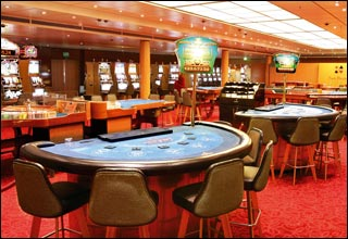 Casino on Costa Voyager