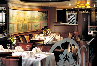 Marquis Dining Room on Pacific Explorer