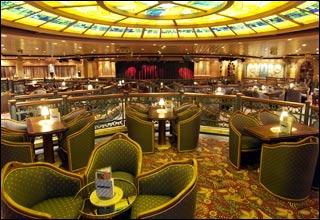 Explorers Lounge on Diamond Princess