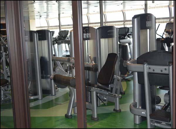 Senses Fitness Center on Disney Dream