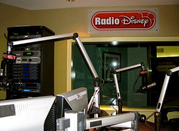Radio Studio on Disney Dream