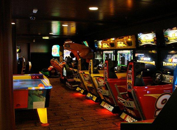 Arcade on Disney Fantasy