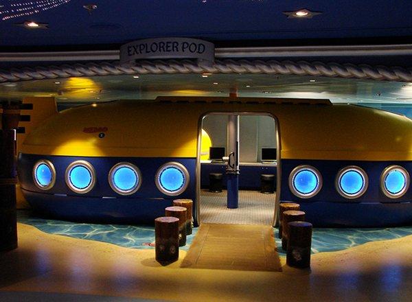Disney''s Oceaneer Club on Disney Fantasy
