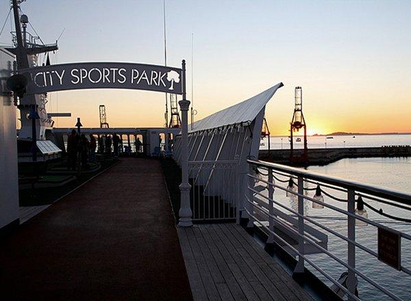 City Sports Park on Disney Fantasy