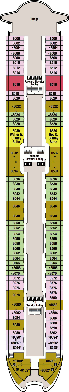 Suite 8086 on disney magic category tc for 8 x 10 deck plans