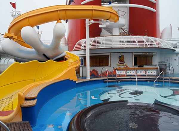 Mickey''s Pool on Disney Magic