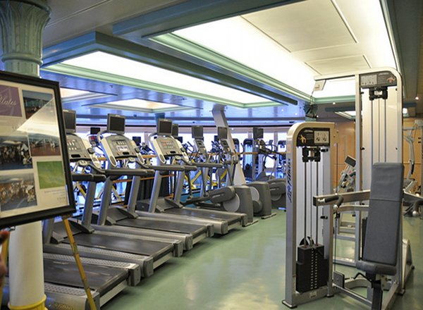 Fitness Center on Disney Magic
