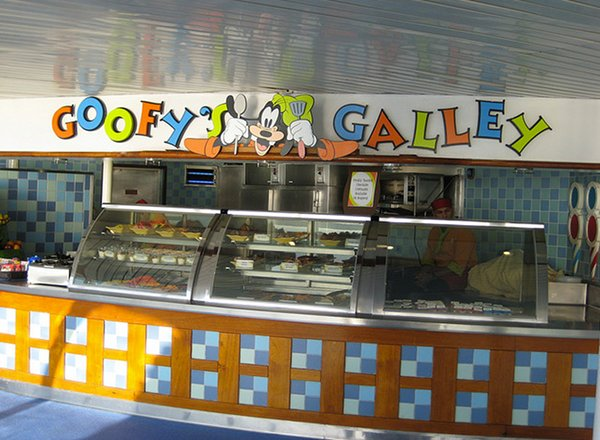 Goofy''s Galley on Disney Magic