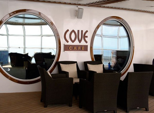 Cove Cafe on Disney Magic