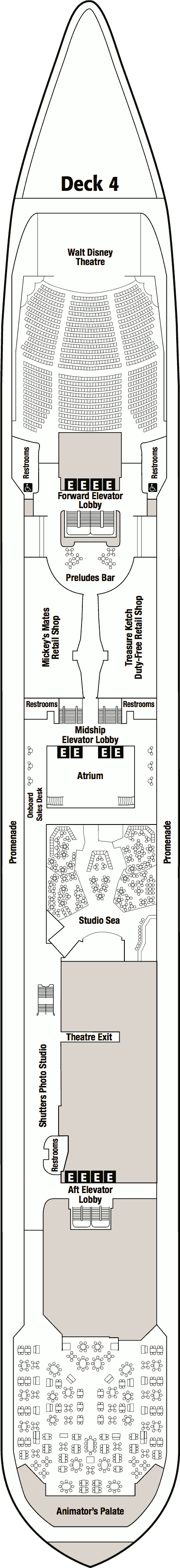 disney wonder deck plan pdf