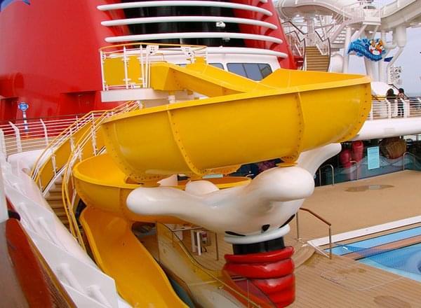 Water Slide on Disney Wonder