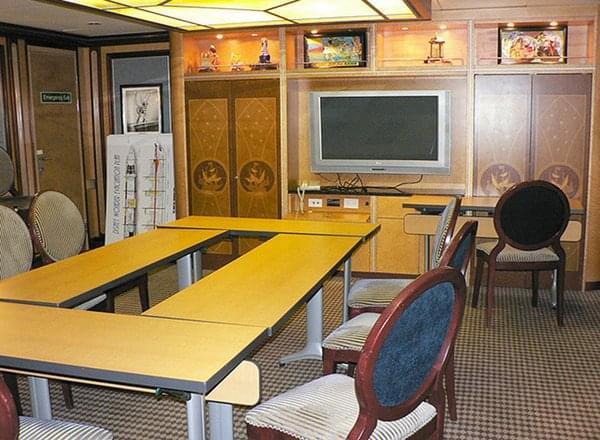 Conference Rooms on Disney Wonder