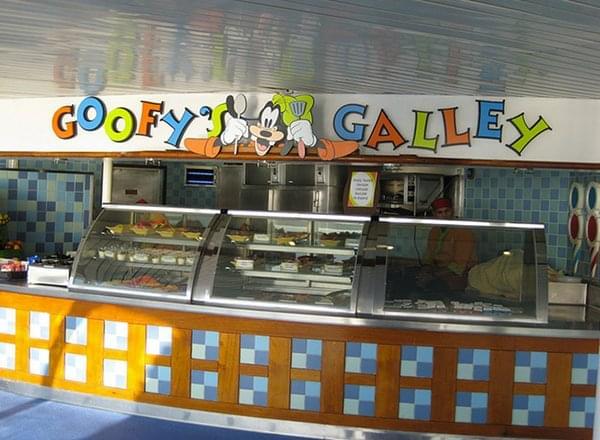 Goofy''s Galley on Disney Wonder