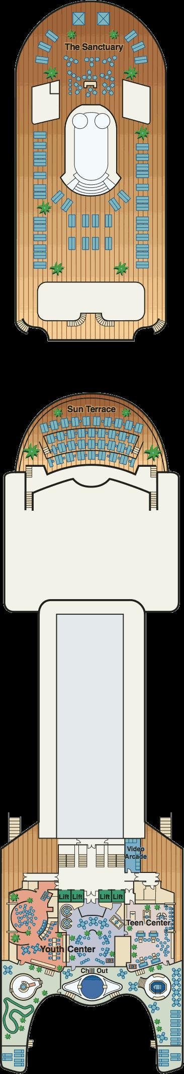 emerald princess deck plan pdf