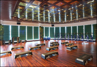 Aerobics on Emerald Princess