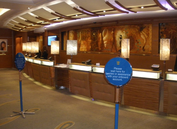 Guest Services on Empress of the Seas
