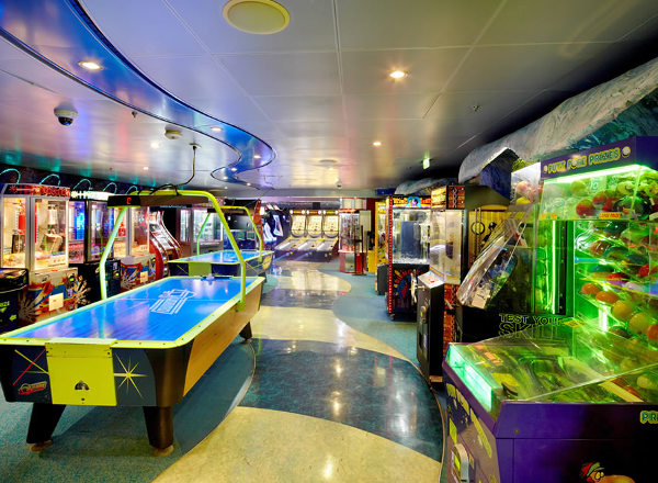 Challenger''s Arcade on Empress of the Seas