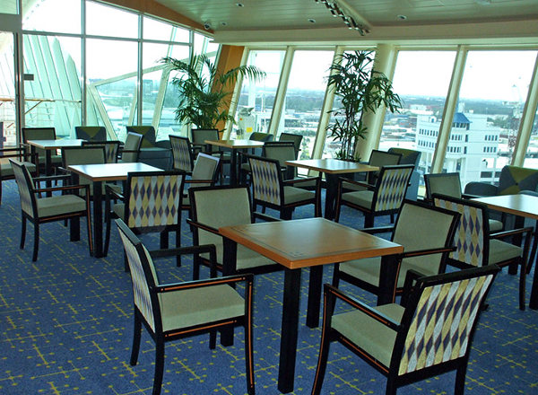 Card Room on Empress of the Seas