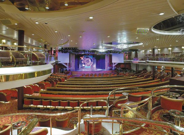 Royal Theater on Empress of the Seas