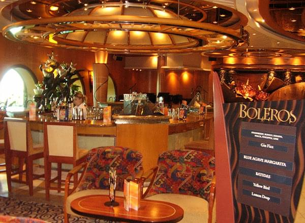 Boleros on Empress of the Seas