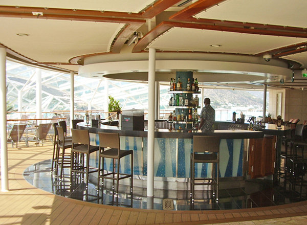 Solarium Bar on Explorer of the Seas
