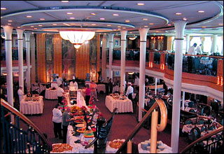 Great Gatsby Dining Room on Grandeur of the Seas
