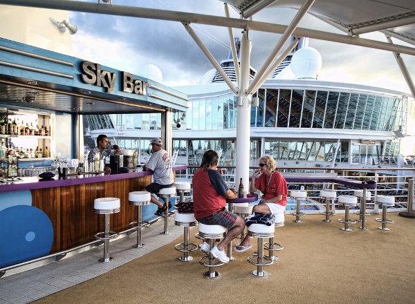 Sky Bar on Harmony of the Seas