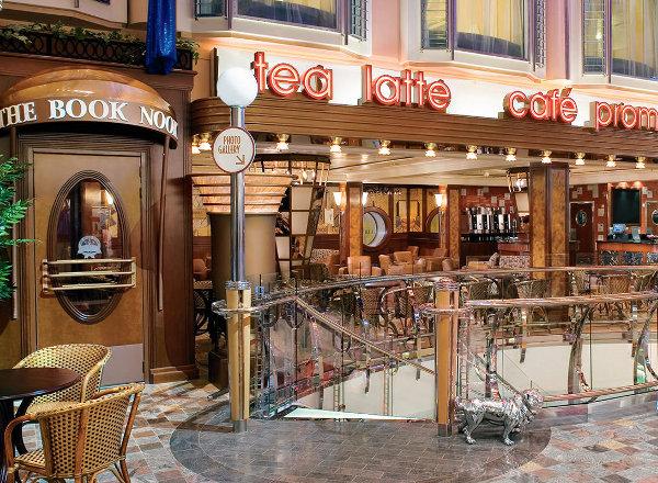 Cafe Promenade on Harmony of the Seas