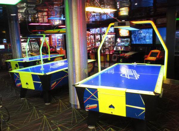 Video Arcade on Harmony of the Seas