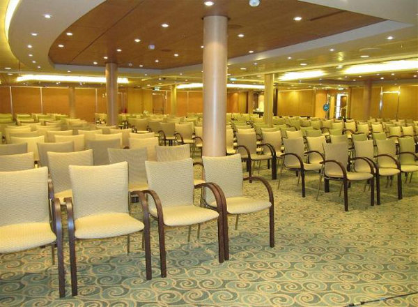 Conference Center on Harmony of the Seas