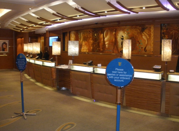 Guest Services on Harmony of the Seas