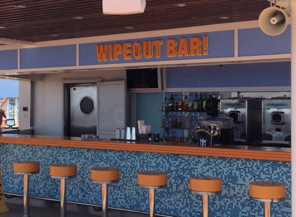 Wipe Out Bar on Harmony of the Seas
