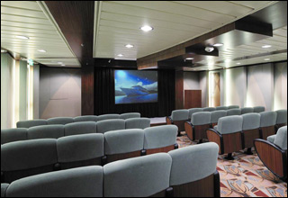 Screening Room on Independence of the Seas