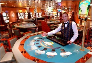 Casino on Island Princess