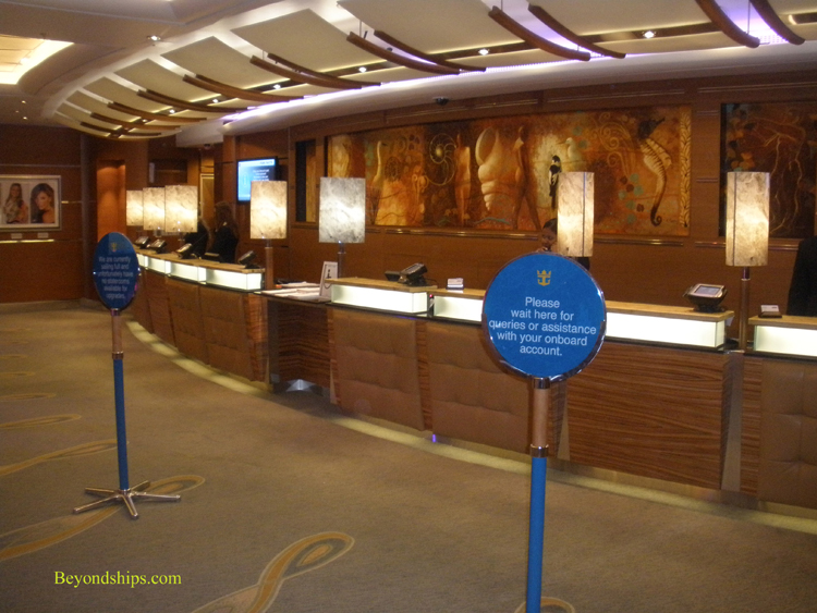 Guest Services on Jewel of the Seas