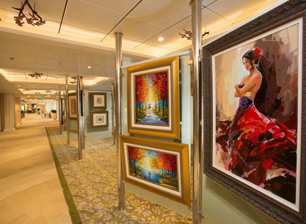 Art Gallery on Jewel of the Seas