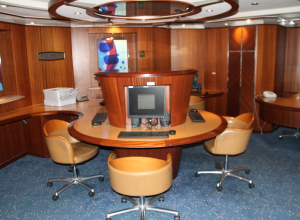 Business Center on Jewel of the Seas