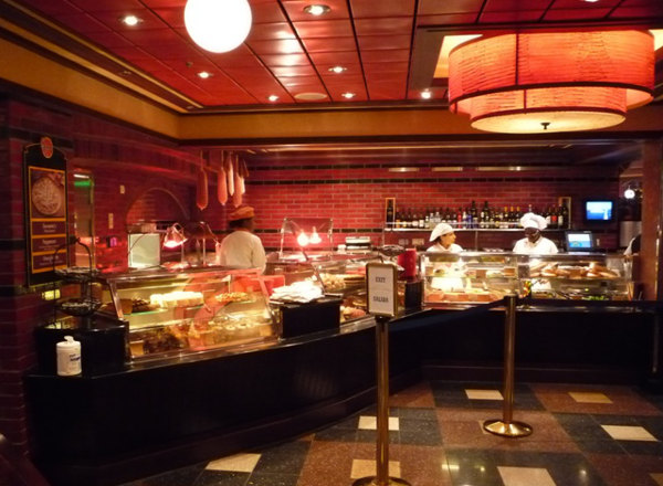 Pizzeria on Jewel of the Seas