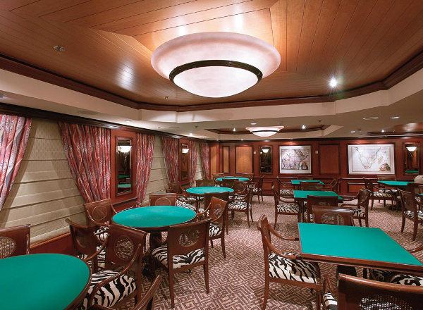Serengeti Card Club on Jewel of the Seas